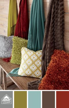 Some great accent color ideas!