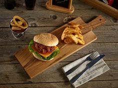 50x15x2cm Acacia Wood Paddle Board, ideal as a steak or burger board!