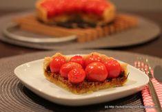 Kirschtomaten-Tarte mit Tomatenpesto