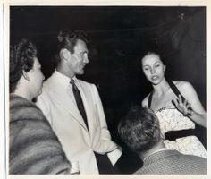 Maria Tallchief Jack Palance Original Candid Photo 1950s | eBay