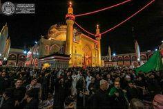 Atmosphere öf the shrine of MAULA A.S ON THE MARTYRDOM OF IMAM Sajjad ( A.S ) #muharramulharam #ayameazaa #Twelver #AhleBayt #shia