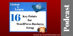 016 16 Key Points to Consider for WordPress Business Setup