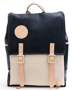 Fabi' Faux Leather Laptop Backpack | Bags, Laptop backpack and ...