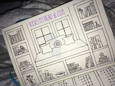 2018 bullet journal inspiration: books to read (for teens)