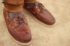 Bexley boat shoes
