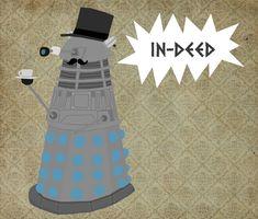 Gentleman Dalek by ~whosname on deviantART