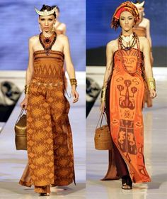 Tenun Ikat Indonesia in fashion  #wearinfindonesianheritage