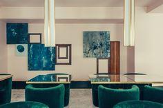 DIMORESTUDIO infuses art deco influences into hotel saint-marc in paris