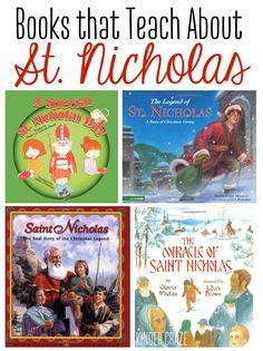 Books that Teach About Saint Nicholas