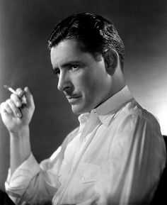 "Ronald Colman, star of ""Random Harvest"" and ""Lost Horizon"", two cinema . Ronald Colman, Classic Movie Stars, Classic Movies, Classic Hollywood, Old Hollywood, Casey At The Bat, Lost Horizon, Milton Berle, Jack Benny"
