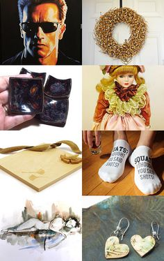 ~ I'LL BE BACK ~ by Cappriell McQuiston on Etsy--Pinned with TreasuryPin.com