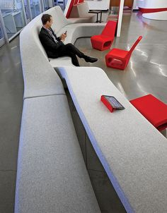 2014 BOY Winner: Small Creative Office | Project: Agency. Firm: Belzberg Architects. Location: Los Angeles, CA. #design #interiordesign #interiordesignmagazine #architecture #seating #office @belzarch