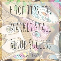 6 Top Tips for Market Stall Setup Success | Create & Thrive Market Stall Display, Flea Market Booth, Market Displays, Booth Displays, Card Displays, Soap Display, Retail Displays, Merchandising Displays, Store Displays