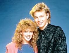 neighbours - Kylie Minoque and Jason Donovan