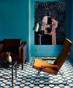 Cecilia WIP in interior by Maria Umiewska