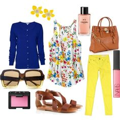 Spring but for me minus the yellow pants! I couldn't pull those off!