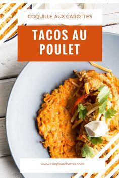 Des tacos que l'on peut faire sans Gluten et qui sont savoureux à souhait ! Le poulet Exceldor est parfait pour ce genre de plat ! MIAM MIAM !
