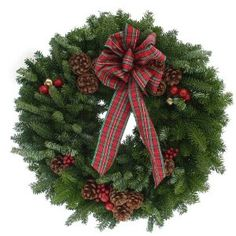 Worcester Wreath 20-Inch Highland Maine Balsam Wreath  Worcester Wreath $29.99