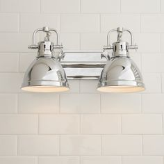 Classic Dome Shade Bath Light - 2 Light - Shades of Light