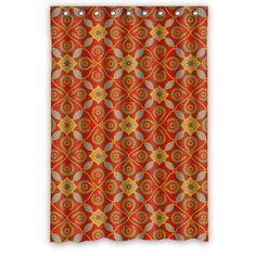 "Popular Latticework Bathroom Shower Curtain 100% Polyester Waterproof 48"" x 72"""