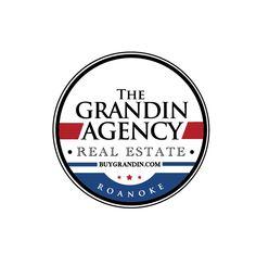 patriotic logo design for The Grandin Agency by thelogoboutique.com Real Estate Logo Design, Logos, Logo