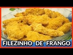 FILEZINHO DE FRANGO(EMPANADO NO QUEIJO) - YouTube