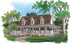 The Allendale II House Plan