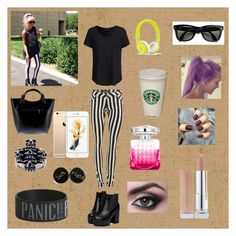 a Lou Teasdale outfit by strotsenburg on Polyvore featuring schoonheid, Ray-Ban, Massimo Castelli, New Look and Jimmy Choo