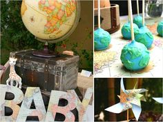 Around the world baby shower theme baby shower baby shower ideas baby shower images baby shower pictures baby shower photos baby shower themes