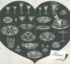 Fostoria Romance Brochure--Inside