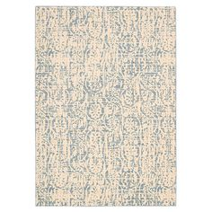 Wool and art silk rug with a damask medallion motif.  Product: RugConstruction Material: 70% Wool and 30% viscos...