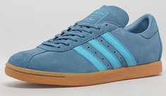 1970s Adidas Tobacco trainers reissued in blue
