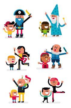 ilustraciones para programa infantil del teatro de la tía Norica en Cádiz ver+ : http://raulgomez.es/portafolio/teatro-infantil-la-tia-norica/
