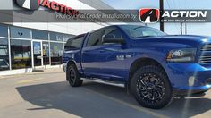Cleaver wheels by Fuel installed on this Ram 1500