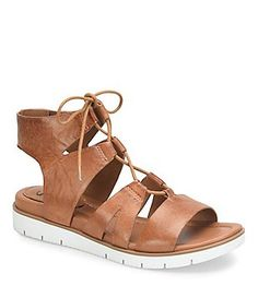 da5d5bc024ed Sofft Madera Leather Ghillie Sporty Sandals Women s Shoes Sandals
