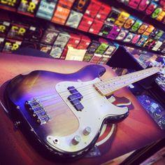 Fender Precision Road Worn bye bye! #fenderprecision #Fender #roadworn #precision #precisionbass #sunburst