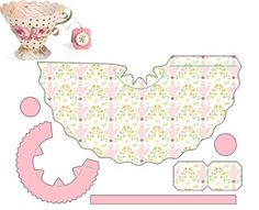 New Ideas For Birthday Box Template Tea Cups Paper Tea Cups, Cricut Baby Shower, Diy And Crafts, Paper Crafts, Fancy Nancy, Birthday Box, Alice In Wonderland Party, Craft Tutorials, Paper Dolls