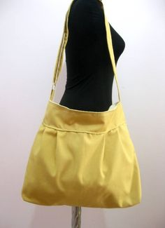 Mustard YellowLarge BagAdjustable StrapOversized by marbled, $33.00