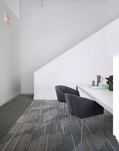 Interface Modular Carpet Tile Detours Onyx Ct111