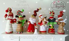 Camy B's media content and analytics Clay Christmas Decorations, Easy Christmas Ornaments, Decorating With Christmas Lights, Diy Christmas Tree, Christmas Bells, Simple Christmas, Handmade Christmas, Vintage Christmas, Custom Rubber Stamps