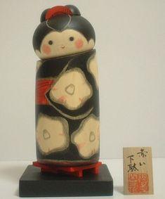Geta by Sansaku Sekiguchi. Splendid work with lovely red clogs