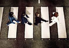 George, Ringo, Paul & John