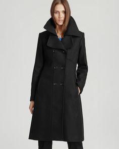 REISS Coat - Board Large Collar
