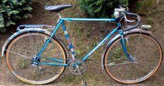 PEUGEOT PX50 1977 french randonneur vintage 650B simplex gold singer herse