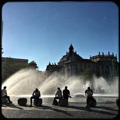 Summer in the city. Love Munich  #lovemunich  #soultravels #outdoorgirl #adventuregirl #wanderlust #mindful #forevercurious  #munichandthemountains
