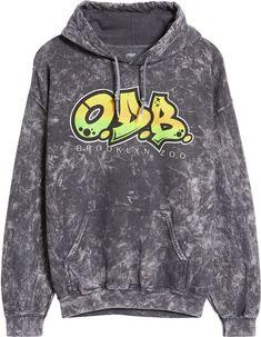 O.D.B. Men's Graphic Hoodie Wu Tang Clan, Hoodies, Sweatshirts, Large Black, Clothing Items, Teen Boy Fashion, Nordstrom, Graphic Sweatshirt, Number