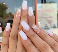 Acrylic Nails Coffin Short, Simple Acrylic Nails, Square Acrylic Nails, Best Acrylic Nails, Acrylic Art, Acrylic Nails Pastel, Easy Nails, Acrylic Nails For Summer, Light Pink Acrylic Nails