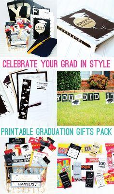 Graduation Gift Printable Pack - seven thirty three