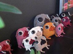 my great pug family :-)