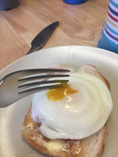 The perfect poached egg, delicious!